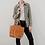 Thumbnail: Praise Honey Leather Tote Bag