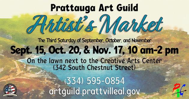Prattville kicks off Fall Artist Market Series Sept  15