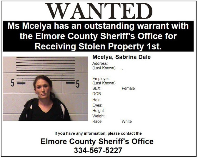 Most Wanted in Elmore County update: Sheriff's Office has