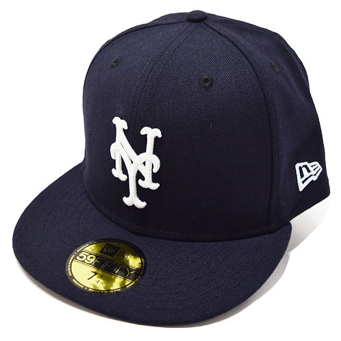 "NEW ERA ""New York Mets Fitted Cap""Sidepatch 無し"