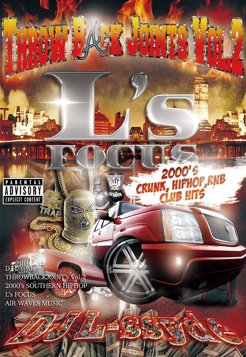 L's FOCUS Throw Back Joints Vol.2 ーDown South Pack ー