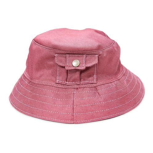 BUILD467 Retro-Fit  Denim Bucket Hat
