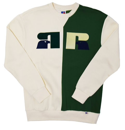 RUSSELL ATHLETIC Bicolor Crew neck Sweat