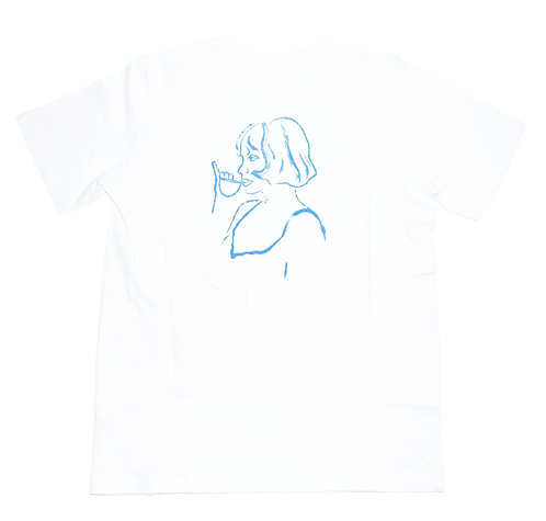 Cafe león dore LOLITA Sketch Short sleeve T-shirts