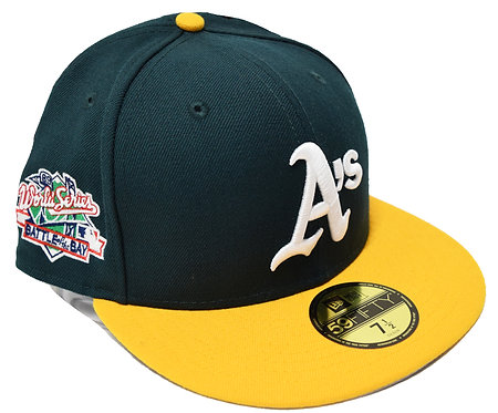 "NEW ERA ""Oakland Athletics Fitted Cap""(Sidepatch 有りWorld Series 1980"