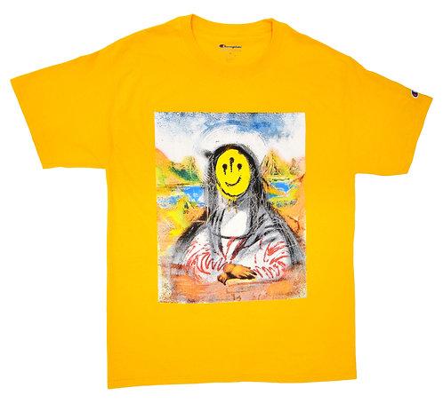 Westside Gunn x Isaac Pelayo Mona Lisa Short sleeve T-shirts Pray For Paris