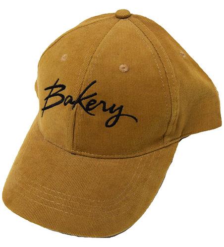 BakeryHNY Script Logo Suede Twill cap