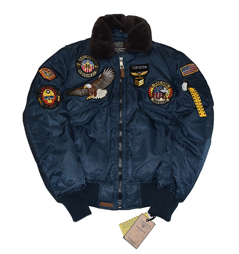 TOP GUN B-15 BOMBER Jacket