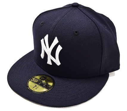 """NEW ERA """"New York Yankees Fitted Cap""""(Authentic Sidepatch 無し)"""