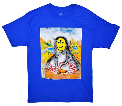 Westside Gunn x Isaac Pelayo Mona Lisa Short sleeve T-shirts Pray For Paris