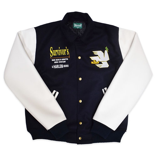 BUILD467 NYC Survivor's Varsity Jacket