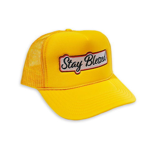 BUILD467 Stay Blessed Mesh Cap