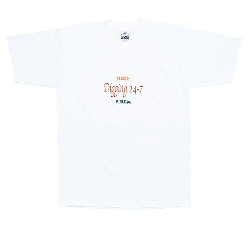 VLOODS×BUILD467 Special Eddition Short Sleeve T-Shirts
