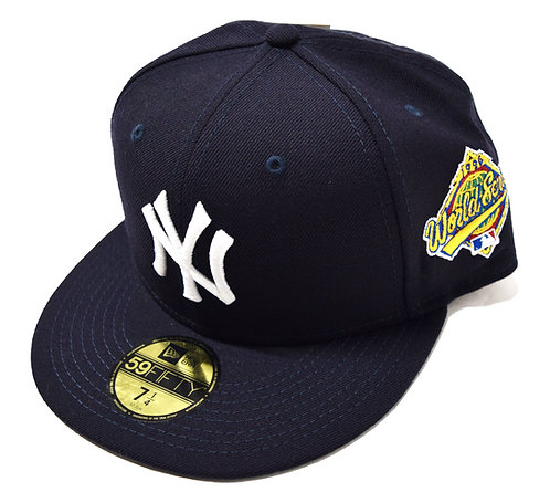 """NEW ERA """"New York Yankees Fitted Cap""""(Sidepatch 有り World Series 1996)"""