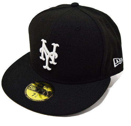 """NEW ERA """"New York Mets Fitted Cap""""Sidepatch 無し"""