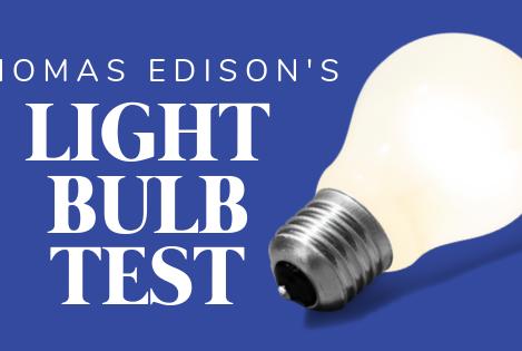 The Light Bulb Test
