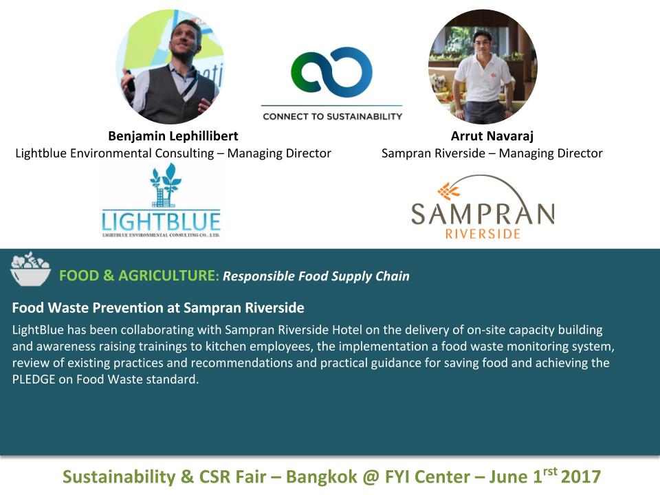 Food Waste Prevention at Sampran Riverside