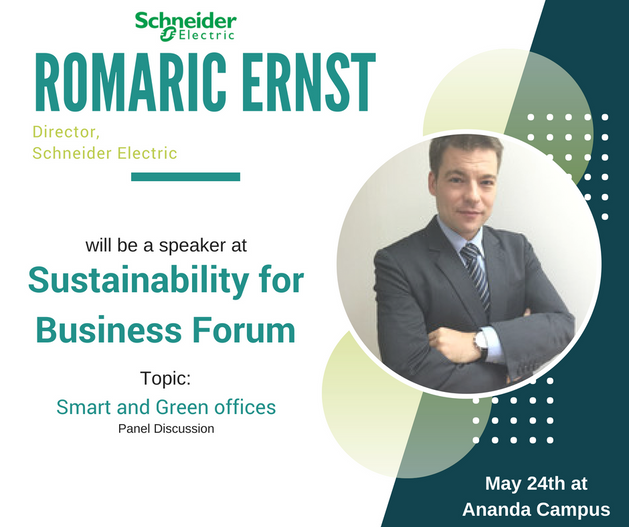 Romaric Ernst graduated with a Master degree from IESEG Business School in Lille, France. He joined Schneider Electric Thailand in 2007 and took several positions in the field of project management for various segments (O&G, Automotive, Data Center). He then led the Strategy and Business Development department. Since 2017 he is heading the Data Center team as Enterprise Director. His key focus is to leverage on Schneider Electric comprehensive offer of equipment, software and services to provide Efficient, Safe, Resilient and Connected solution to customer with critical infrastructures.