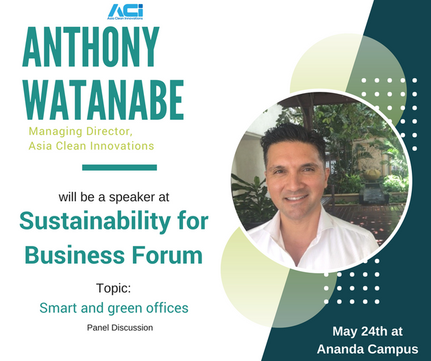 Anthony has spent the past 15 years working at the forefront of sustainability. Adept at connecting dots and data to originate opportunities, he is an incorrigible glass half full eco-preneur. While based in Canada, he developed CSR strategies for multinational companies, built low carbon roadmaps in Latin America, pioneered the country's leading water conference, and helped cleantech companies with strategies for accessing new markets. Since arriving in Asia, he has been helping Canadian cleantech companies in energy, water and air quality access the dynamic markets of ASEAN through ACI's exclusive distribution licenses and strong networks across the region. Under Anthony's leadership, ACI has also built deep expertise working with global brands to help green the considerable supply chain here in the region. Anthony is a member of EuroCham Cambodia's Green Business Committee, and is chairing the inaugural Sustainability and Smart Business Committee of CanCham Thailand.