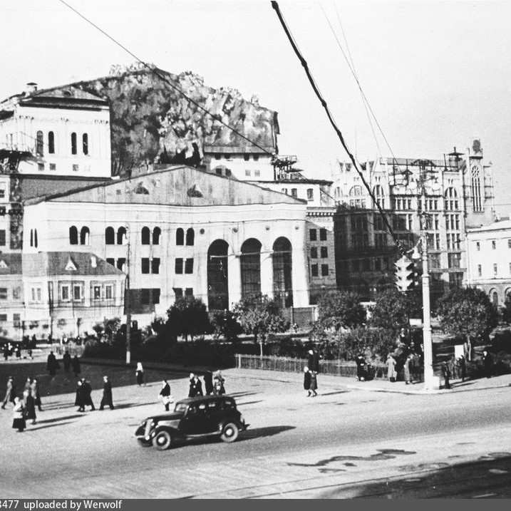 Bolshoi Theater during the Great Patriotic War