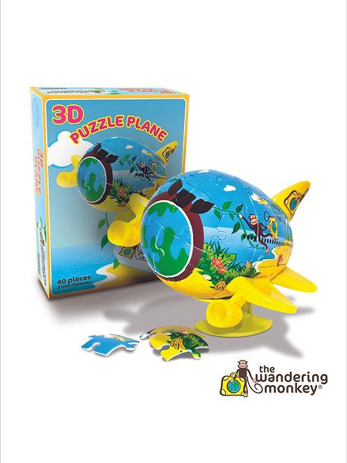 40pce 3D Puzzle Plane