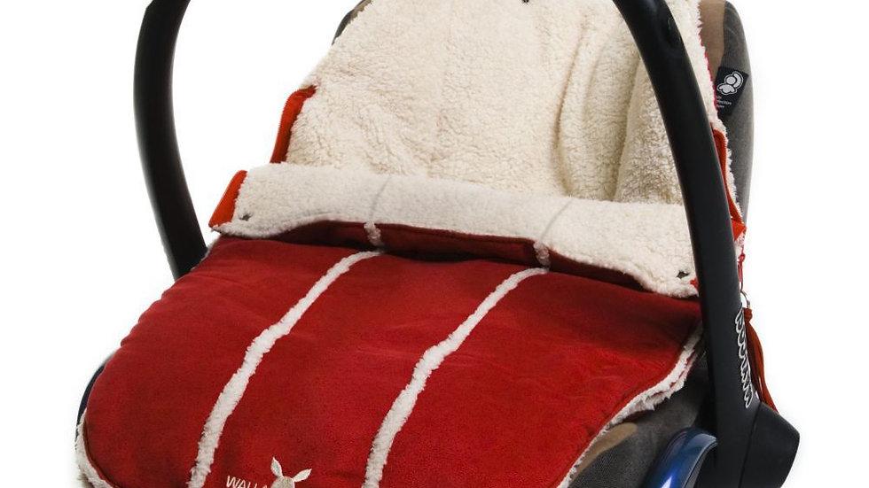 Wallaboo Newborn Footmuff - Red