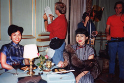 With Amy Tan