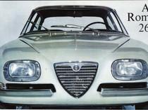 Alfa Romeo 26OO SZ Production (1965)