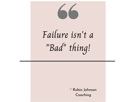 "Do you view failure as ""bad""?"