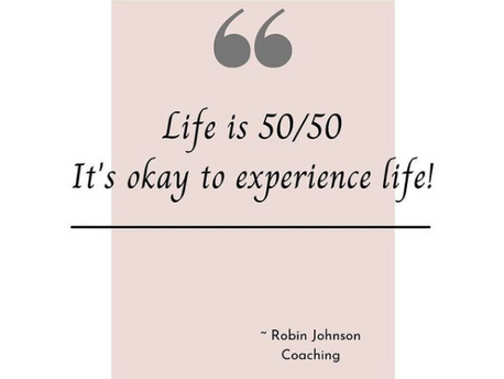 Life is 50/50!
