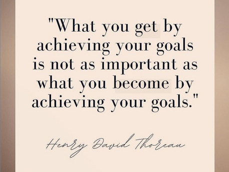 Do you have big goals you are setting out to achieve?