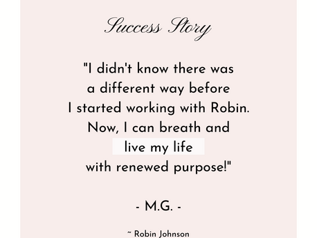 I love success stories from my clients! 💗💗💗