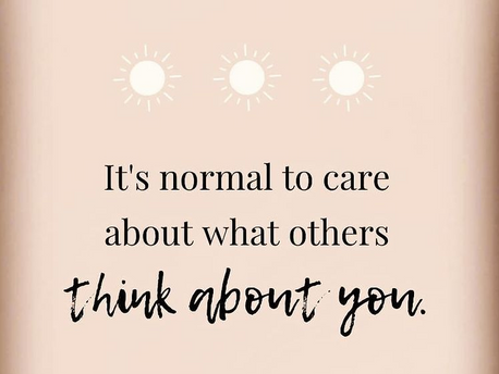 Do you worry about what other people think about you?