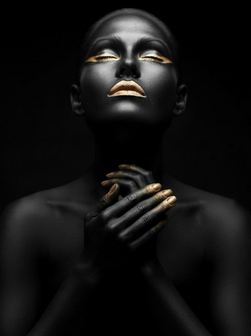Poster Art - Golden lady