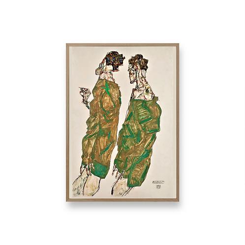 Egon Schiele Art No1