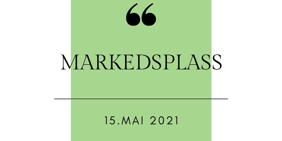 BESTILL MARKEDSPLASS 15. Mai 2021