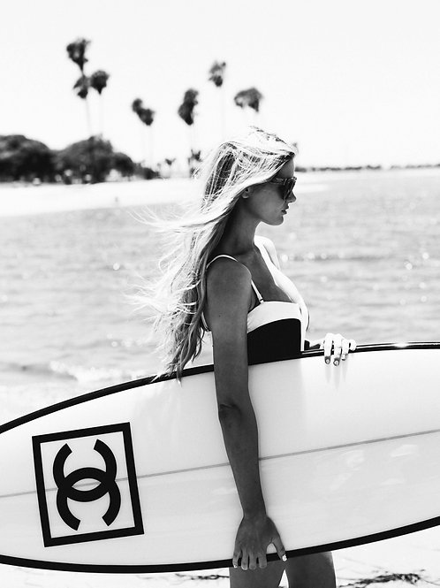 Poster Art - surf Chanel