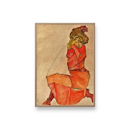 Egon Schiele Art No5