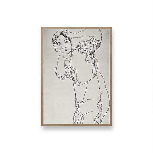Egon Schiele Art No3