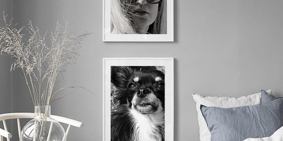 Kreativt Kurs - Lag din egen bildevegg med Mobilbilder og tekstplakater
