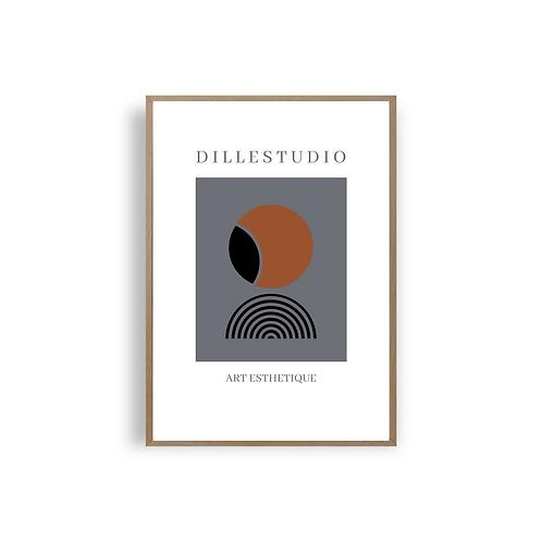 Art Esthetique No 9 - Dille Studio