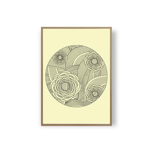 Rose Artprint