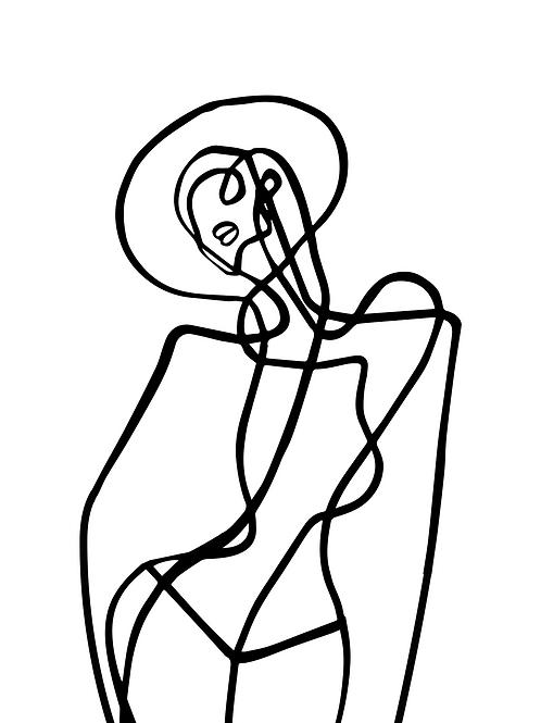 En strek