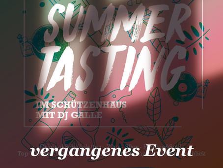 """""""Summer Tasting"""" - im Schützenhaus"""