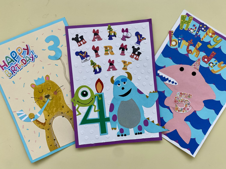 お誕生日カード〜Disney&more