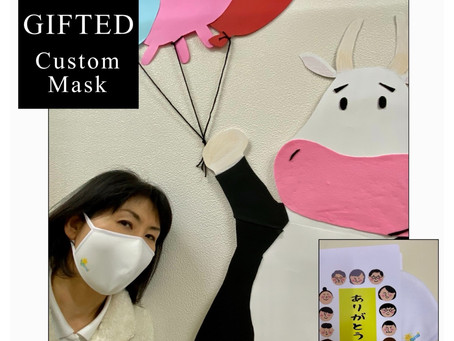 GIFTEDキッズ Custom Mask