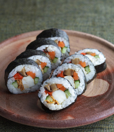Sushi by chef Sachiko Saeki