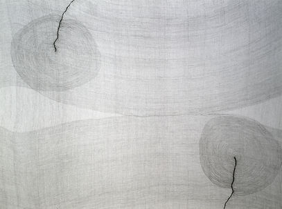 detail of Fissure from the series In Papyro by Pak Keung Wan