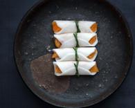 Kabuki Turnip Kaki Rolls