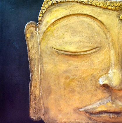 Барельеф Будда